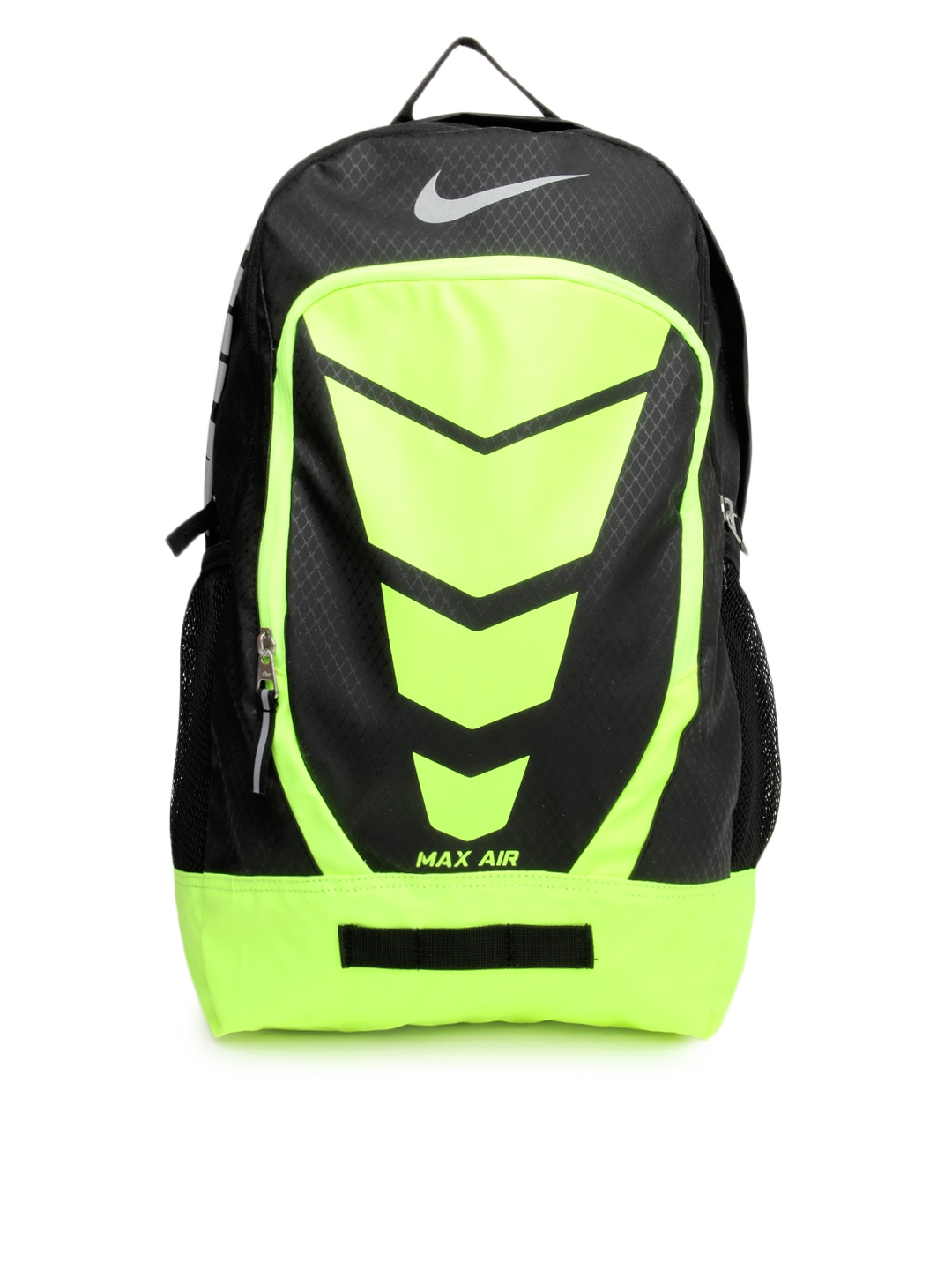 ddb190c330 Buy Nike Unisex Black   Fluoroscent Green Max Air Vapor Backpack - Backpacks  for Unisex 654423