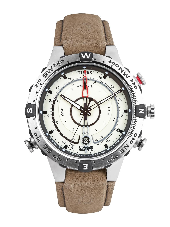 Timex Intelligent Quartz Men Off White Dial Watch T2N721
