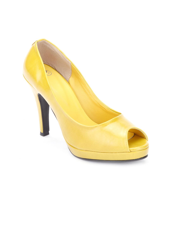 4c9eca63e68 Buy Sole To Soul Women Yellow Stiletto - Heels for Women 694483