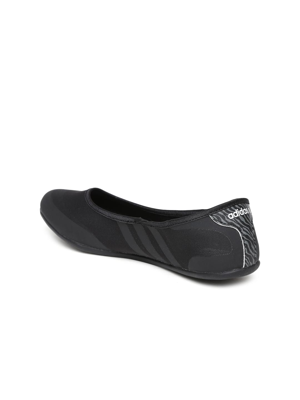 f8ac53447c0d Buy ADIDAS NEO Women Black Sunlina Flat Shoes - Flats for Women ...