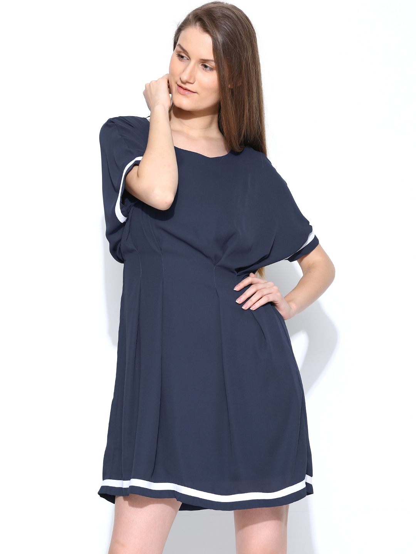 Buy Vero Moda Navy Tailored Dress
