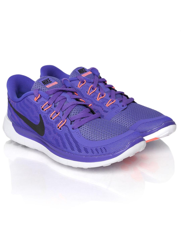 b06ec9e079f8f Buy Nike Women Purple Free 5.0 Running Shoes - Sports Shoes for ...