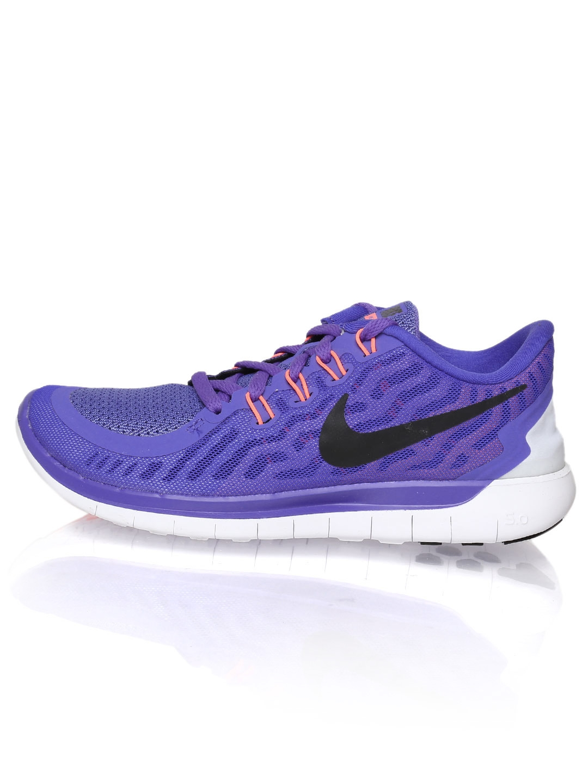 online store 47b5c 0dcff Nike Women Purple Free 5.0 Running Shoes