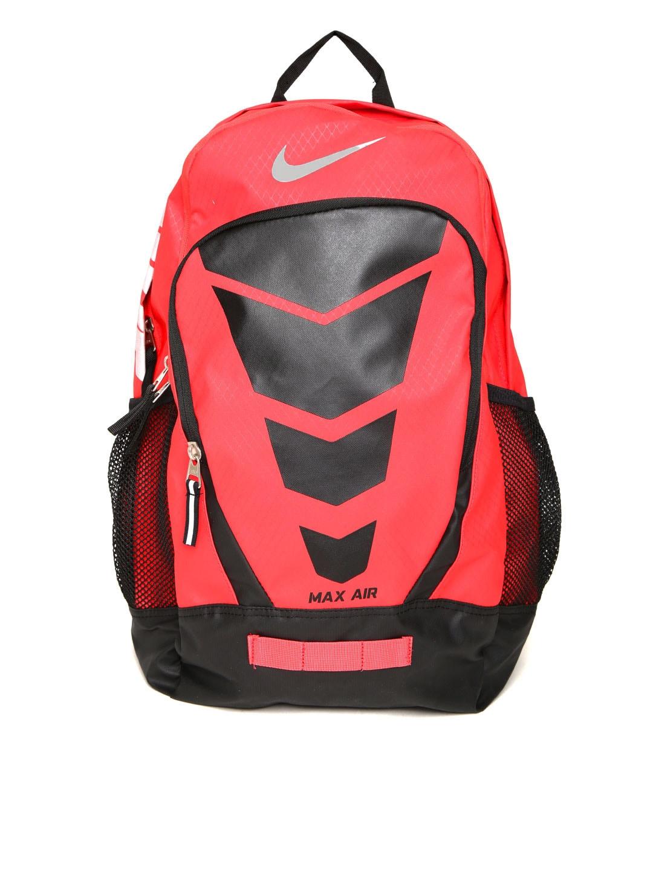 Nike Unisex Red & Black Max Air Vapor Printed Backpack