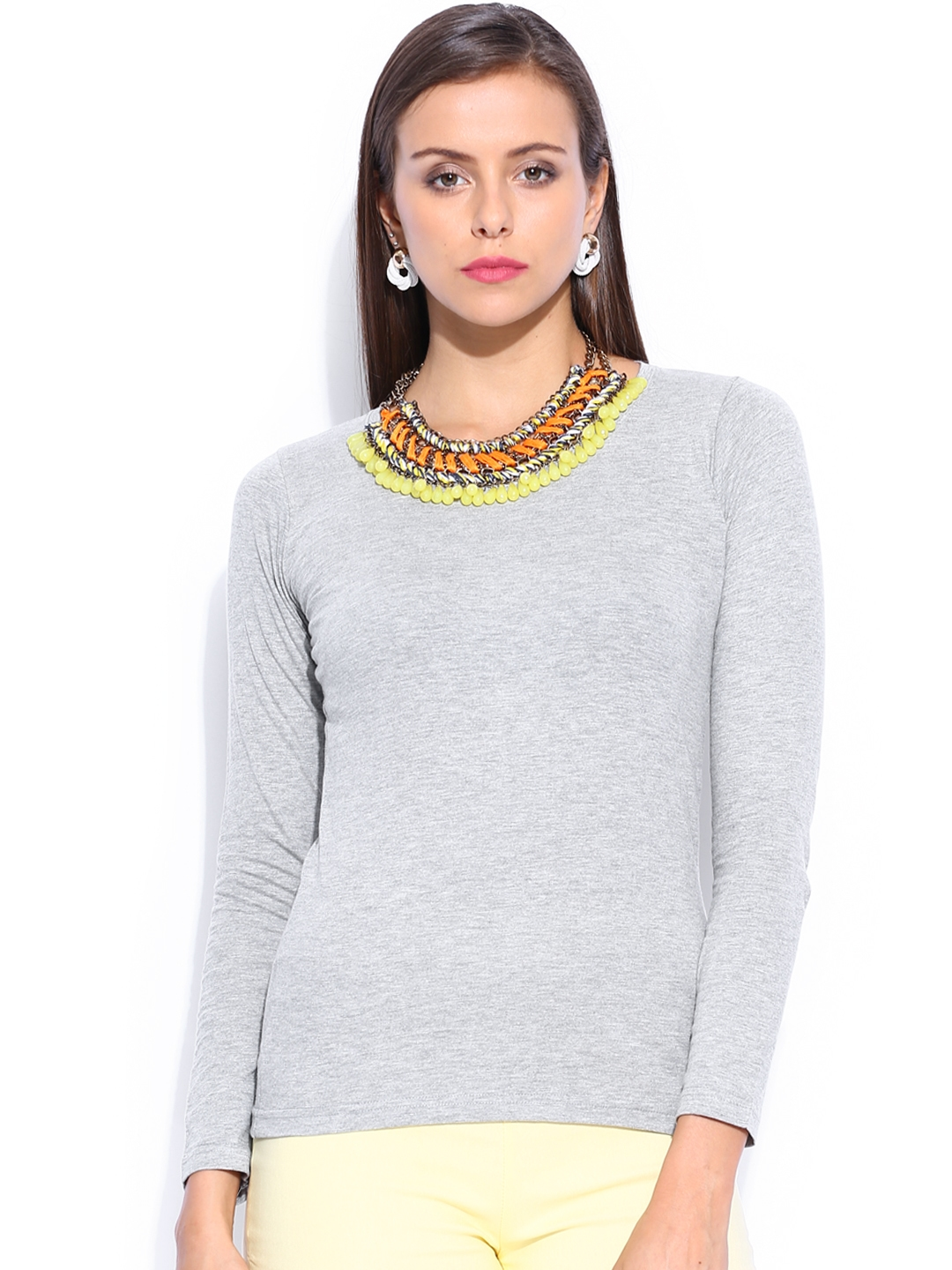 Miss Chase Women Grey Top