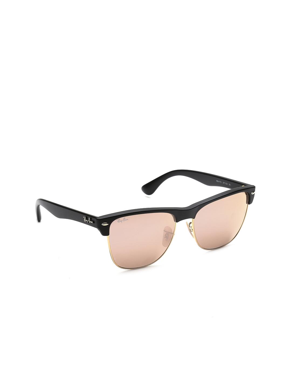 65c9de1e05 Buy Ray Ban Men Mirrored Clubmaster Sunglasses 0RB4175 - Sunglasses ...