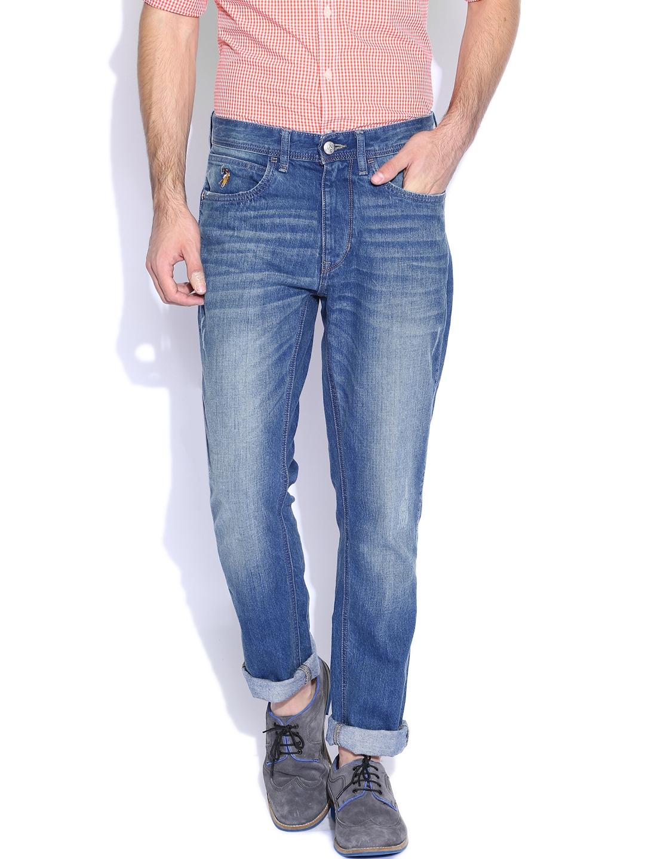 e720831e1e Buy U.S. Polo Assn. Denim Co. Blue Badger Comfort Slim Fit Jeans ...
