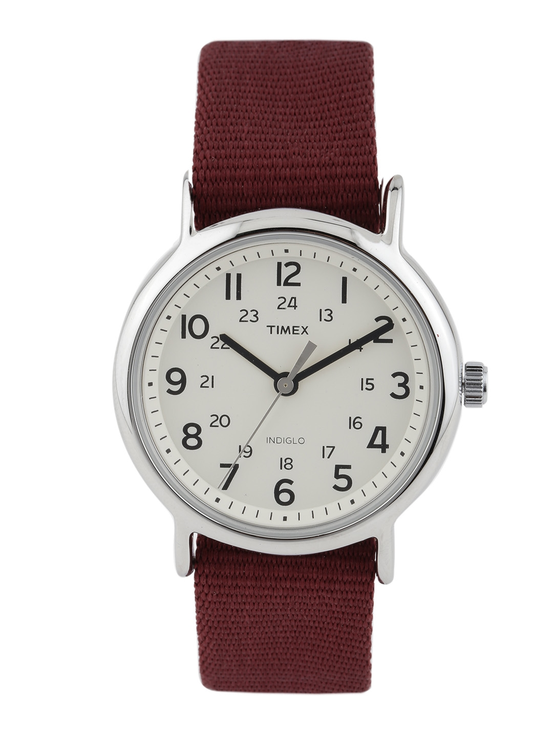 Buy timex indiglo unisex off white dial watch t2p235 watches for unisex myntra for Indiglo watches