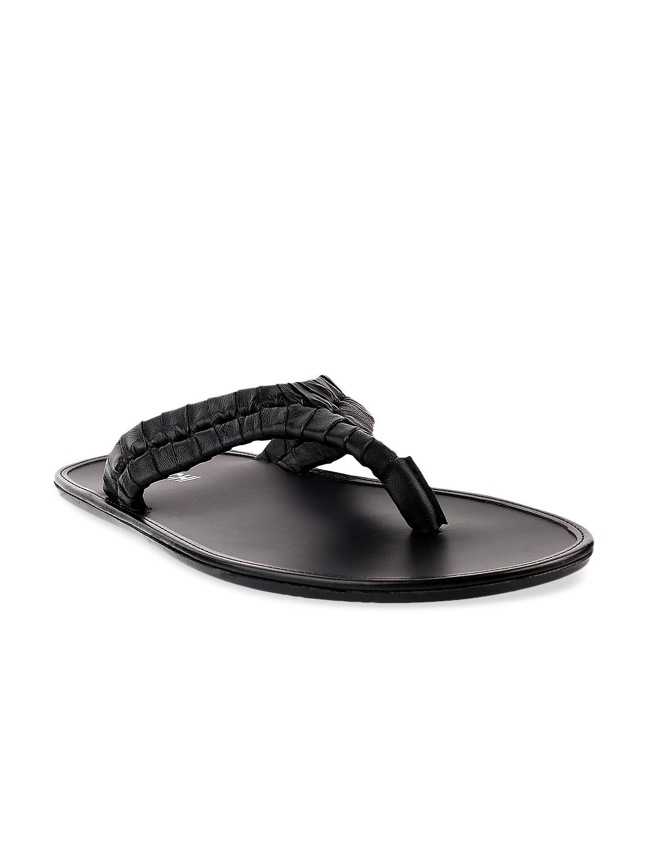 Black sandals online - Mochi Men Black Sandals