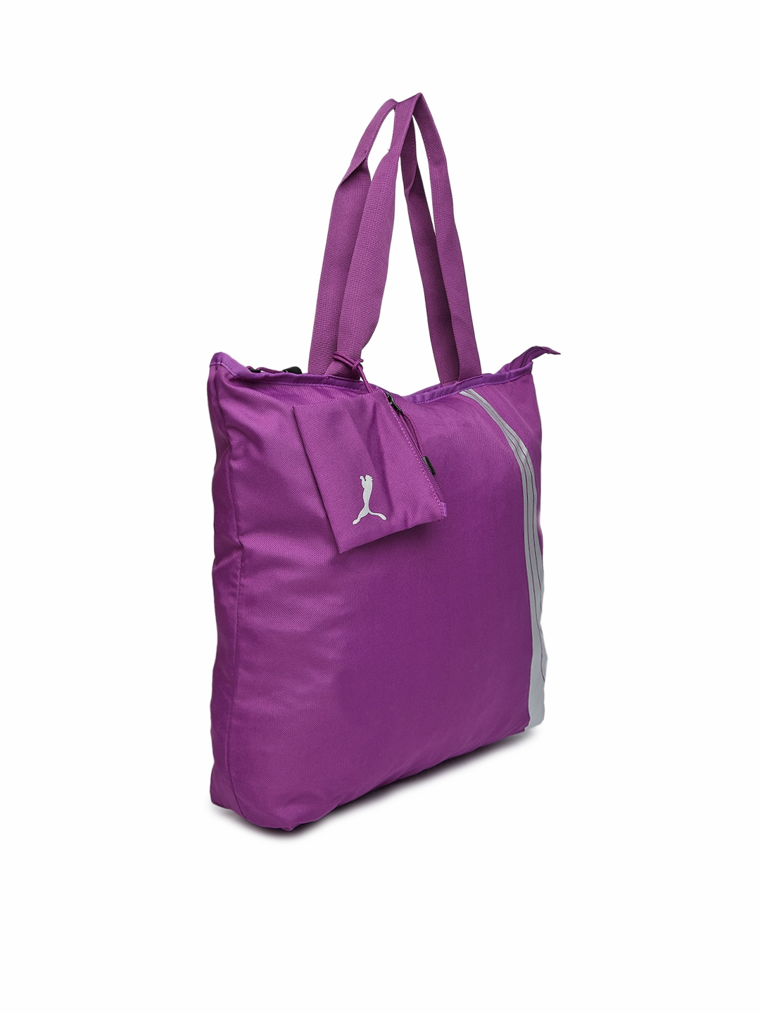c8b192a8edef Buy PUMA Purple Shopper Bag - Handbags for Women 935436