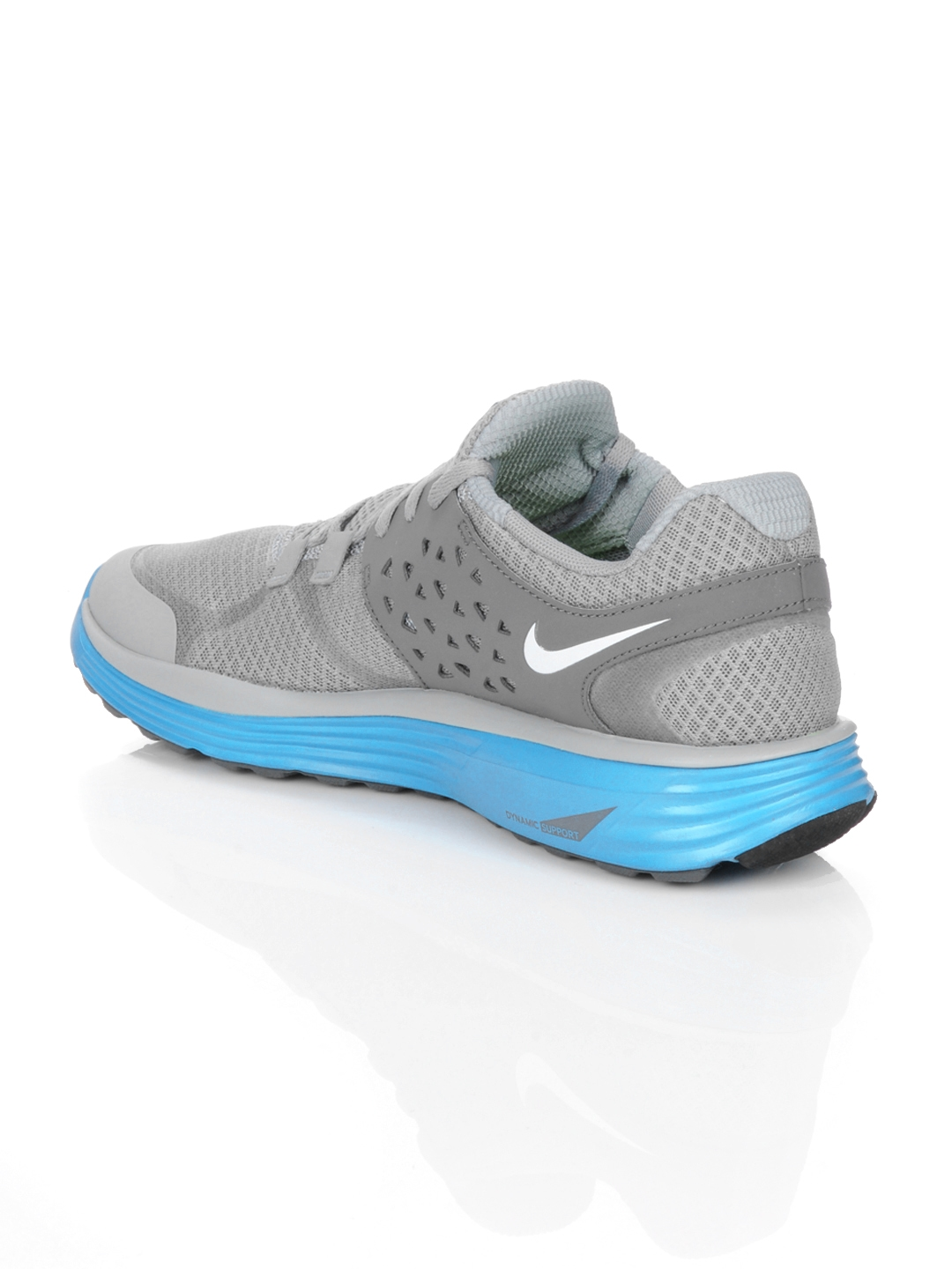newest 4664f 42260 Buy Nike Men Lunarswift +3 Grey Sports Shoes - Sports Shoes for Men ...