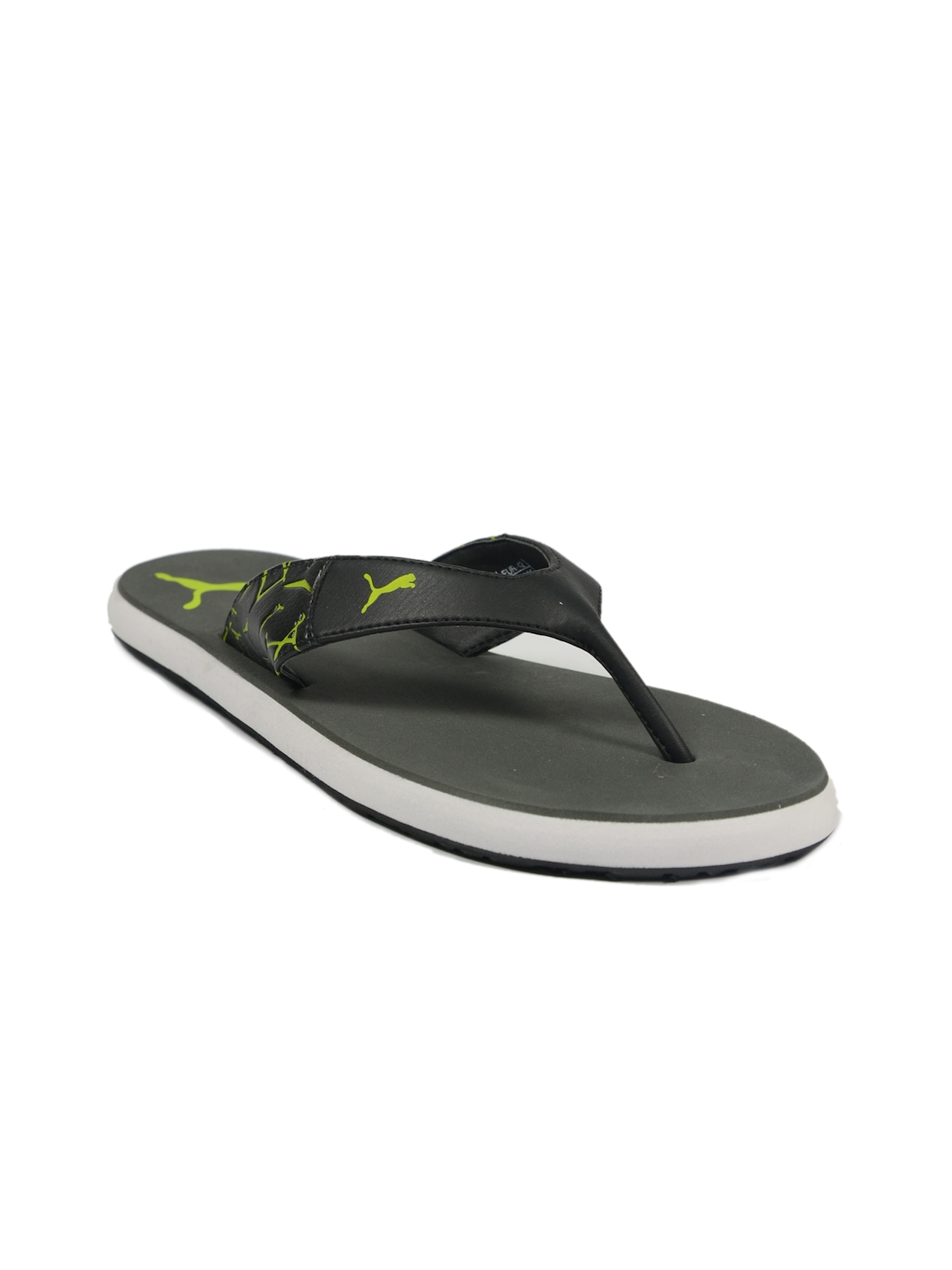 a1a11306ea546e Buy Puma Men s Winglet II Grey Yellow White Flip Flop - Flip Flops ...