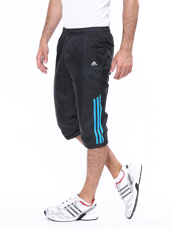 4e98d97d5 Buy ADIDAS Men Black CLTR Pant 3 4WV 3/4 Length Training Shorts ...