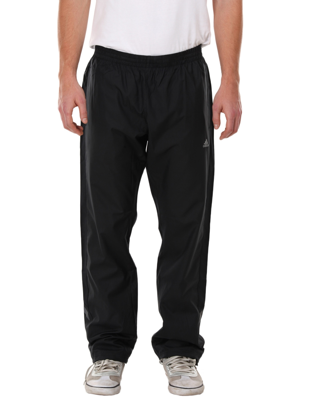 f3f6a96503ab Buy ADIDAS Men Black ClimaLite Track Pants - Track Pants for Men 108368