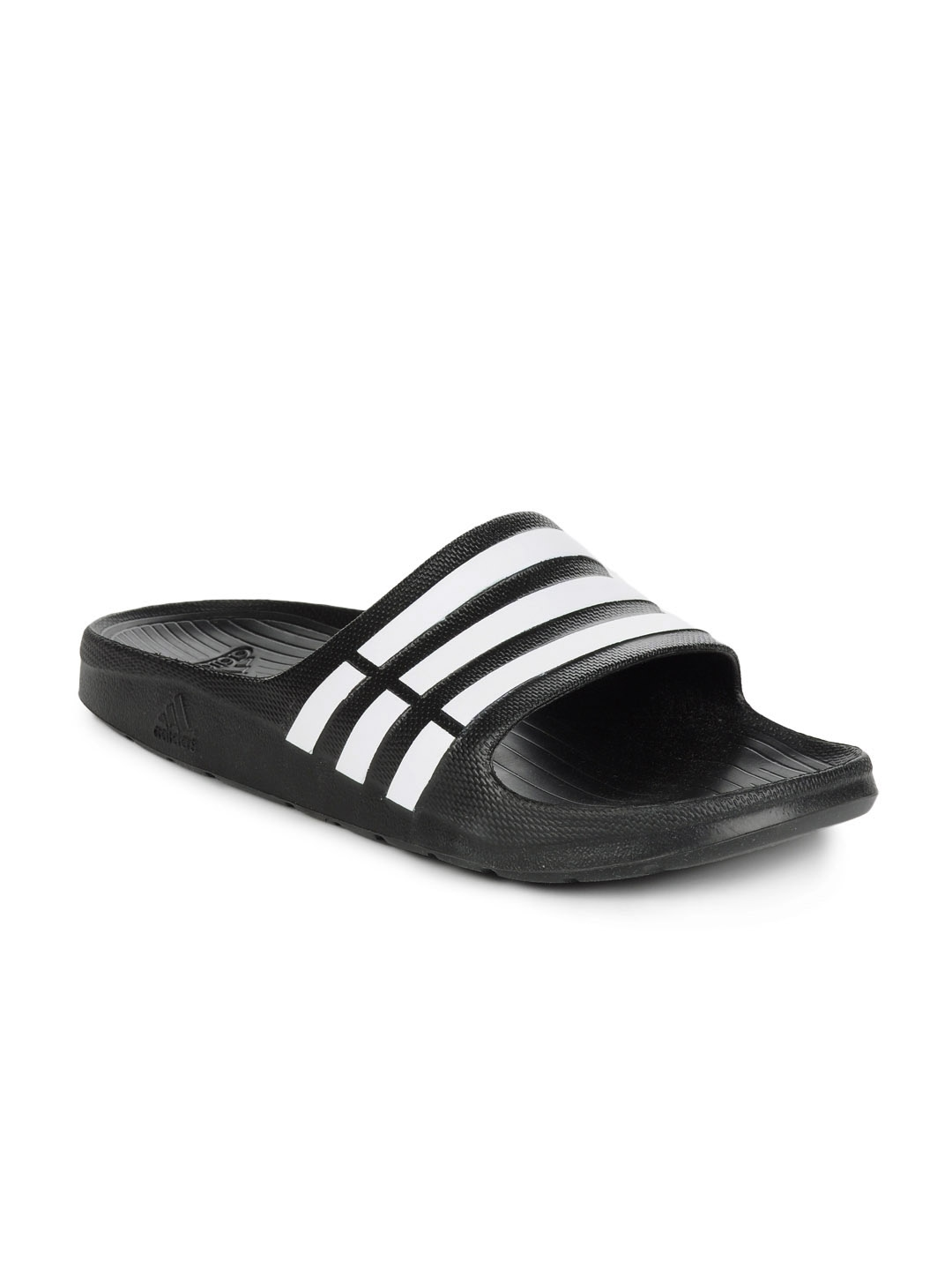 ebba70599 Buy ADIDAS Men Black Duramo Slide Flip Flops - Flip Flops for Men ...
