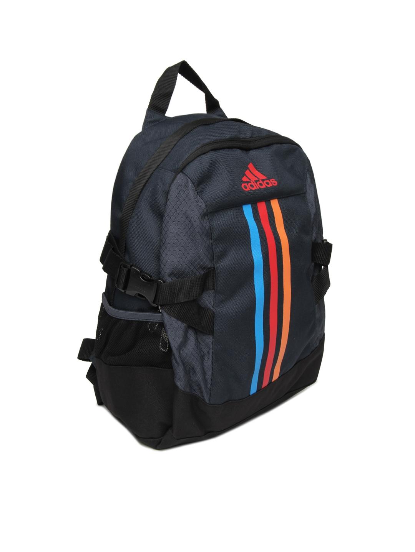 93e9e47aa7 Buy ADIDAS Kids Blue BP Power II M Backpack - Backpacks for Unisex ...