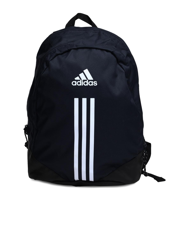 Buy Adidas Unisex Navy Blue Bp 3s Backpack Backpacks For