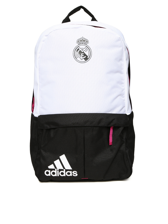 d47d285df2 Buy ADIDAS Unisex White & Black Real Madrid Backpack - Backpacks for Unisex  514713 | Myntra