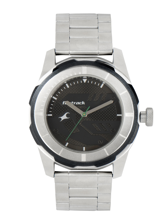Fastrack Men Black Dial Watch 3099SM04