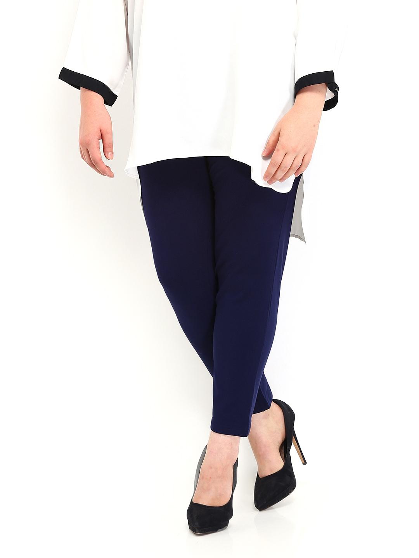 Buy Femella Front Ruffle Top For Women: Buy Femella Women Blue Treggings