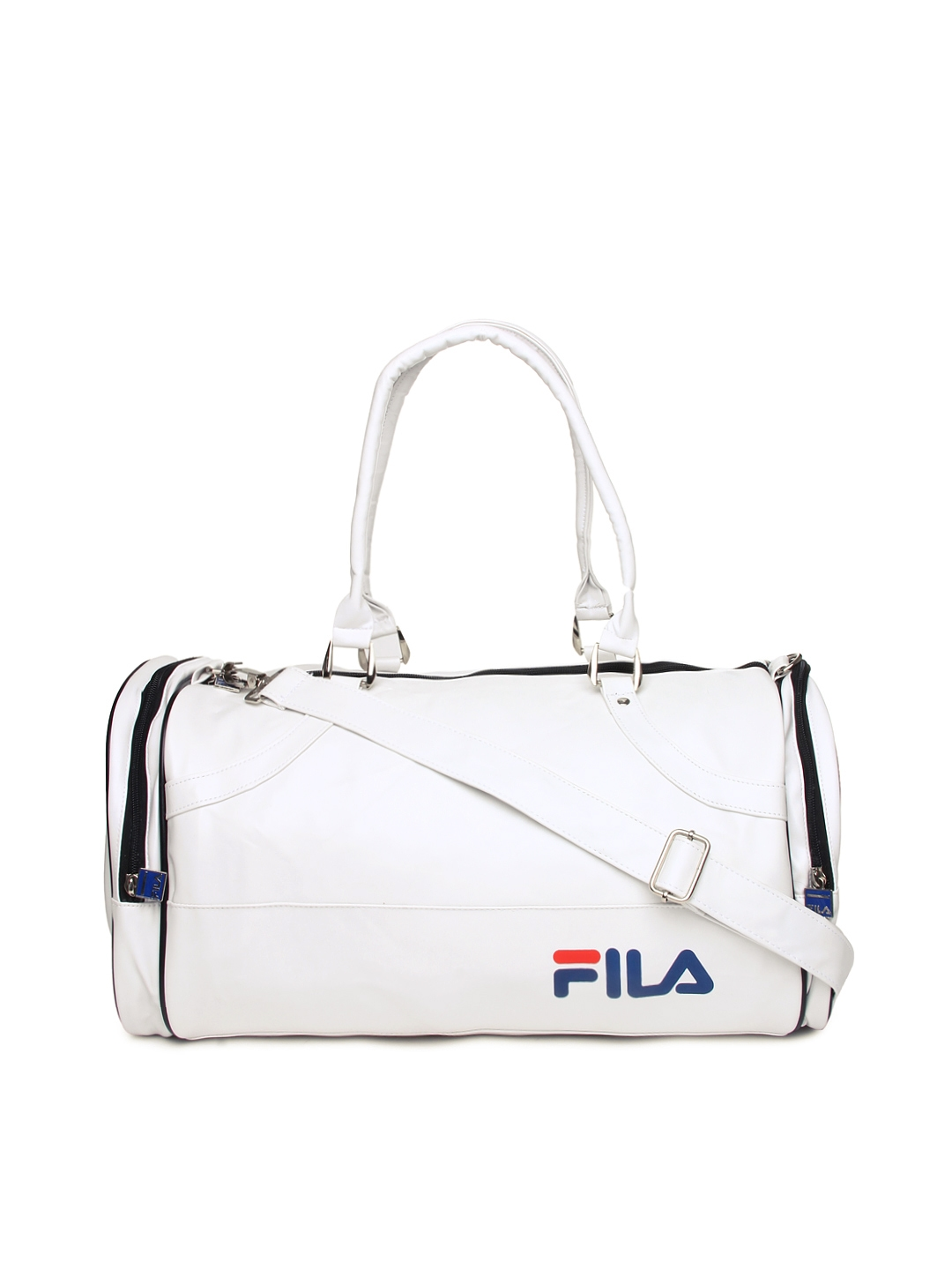 Buy Fila Unisex White Duffle Bag - Duffel Bag for Unisex 435850 | Myntra
