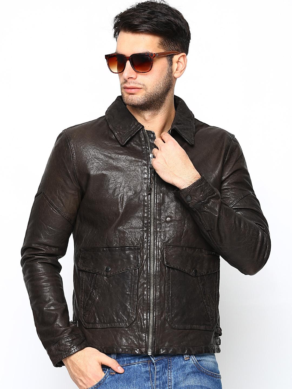 Leather jacket jack and jones - Rs 9997