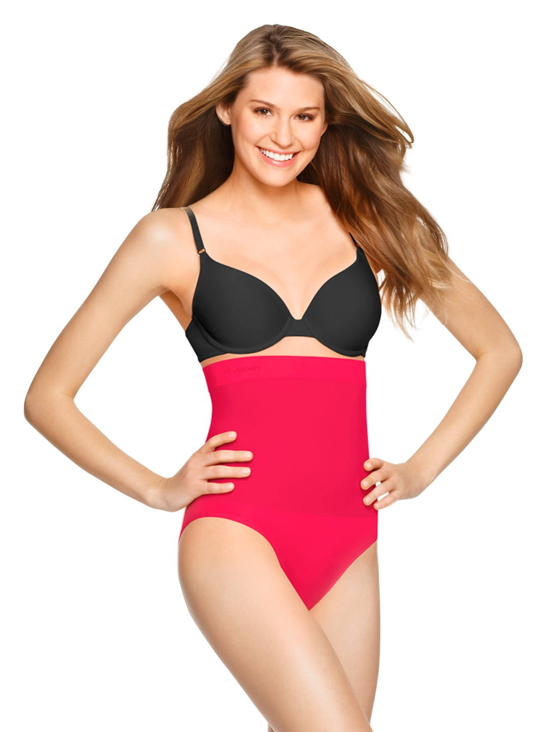 09962019cf Buy Jockey Dark Pink Seamless Shaping High Waist Bikini Shapewear 6704 -  Shapewear for Women 403140