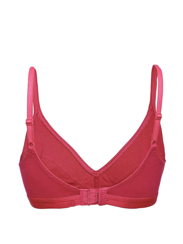 38f8c88dc69b5 Buy Jockey Essence Red Plunge Neck Bra 1271 0105 - Bra for Women ...