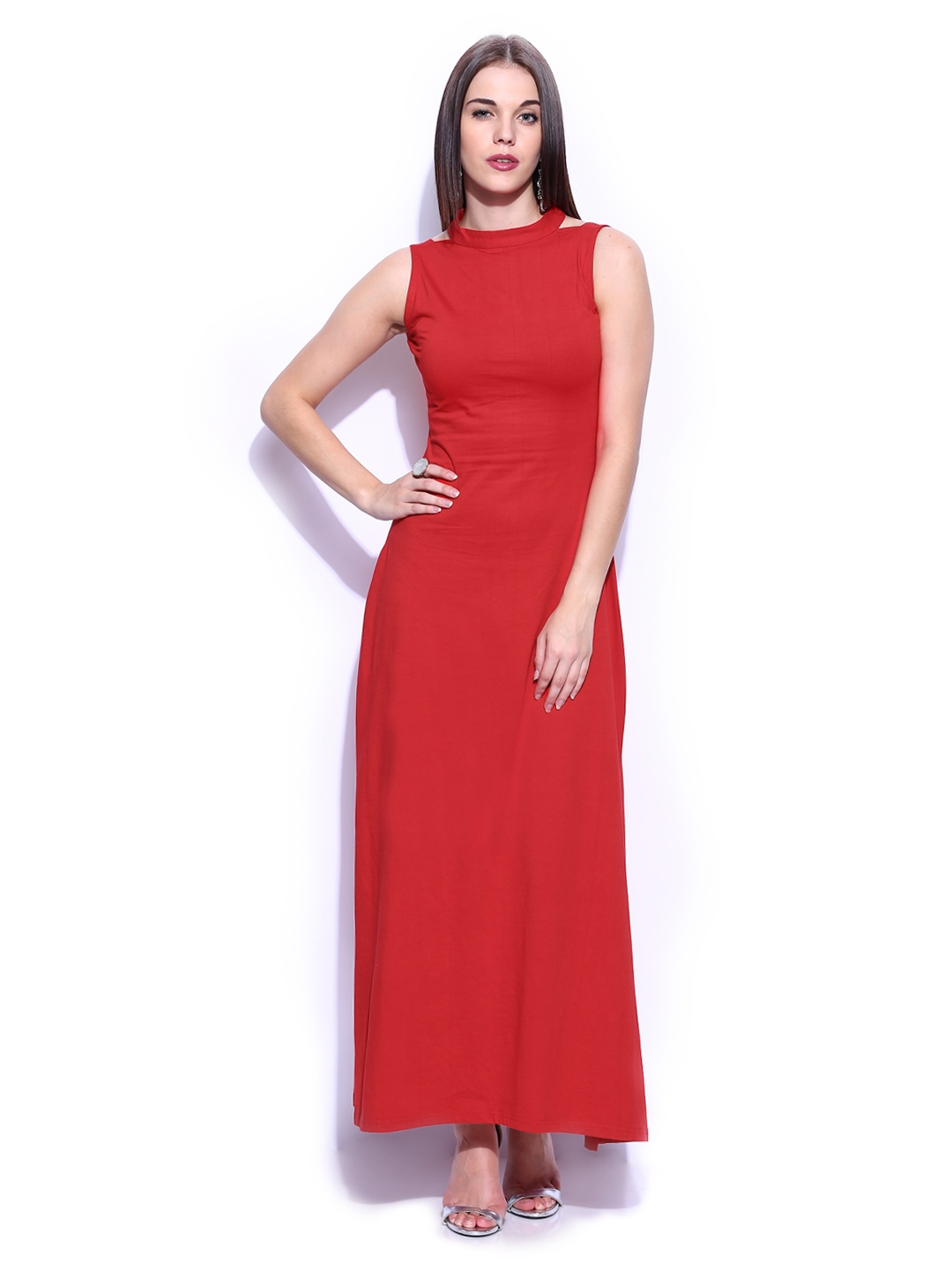 820093b274d Buy Miss Chase Red Maxi Dress - Dresses for Women 480782