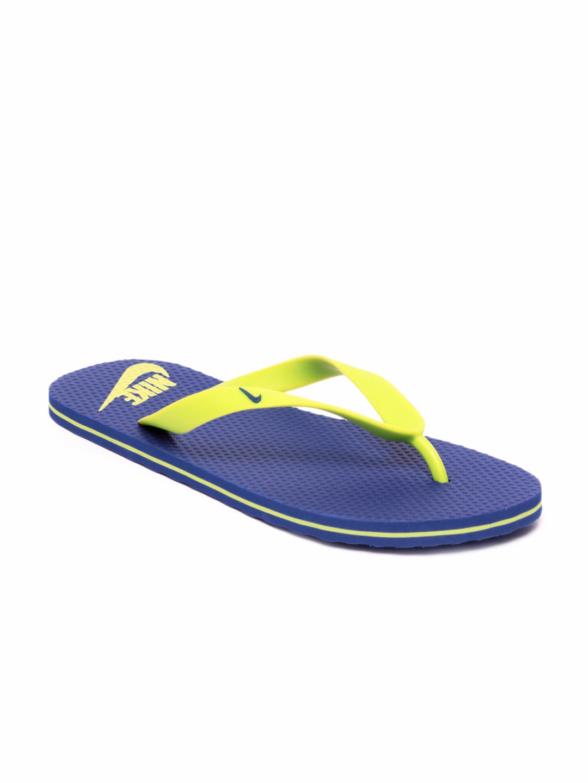 554988d42 Buy Nike Men Blue Aquahype Flip Flops - Flip Flops for Men 66879 ...