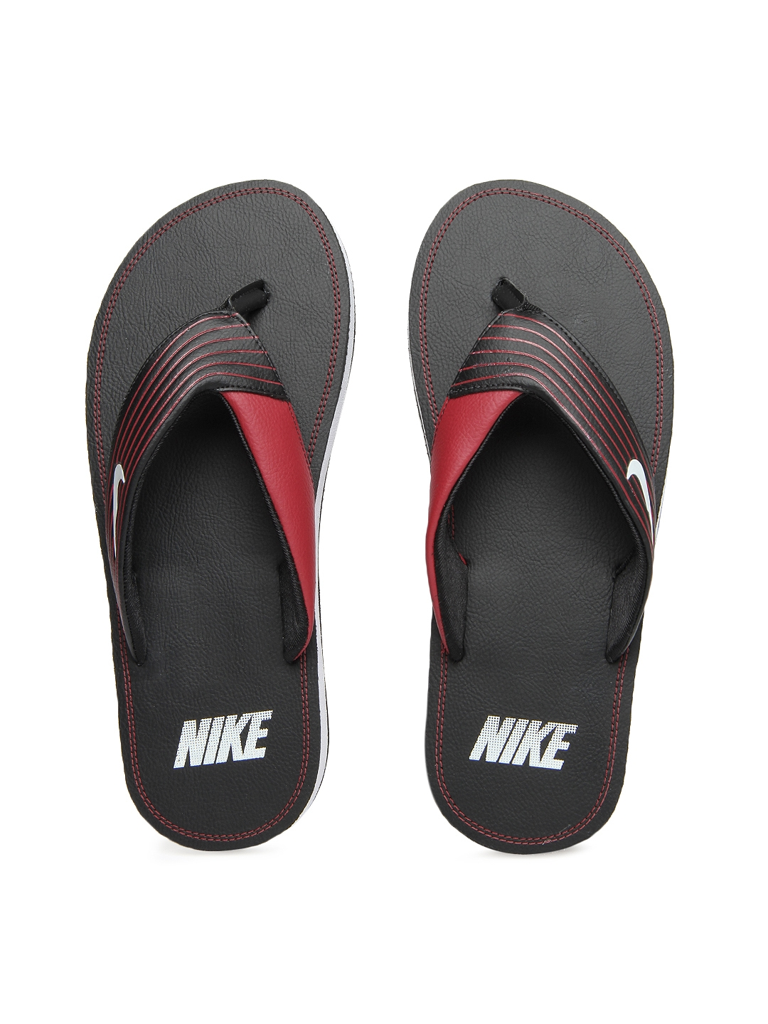 4848510ba6506a Buy Nike Men Black Chroma Thong III Flip Flops - Flip Flops for Men ...