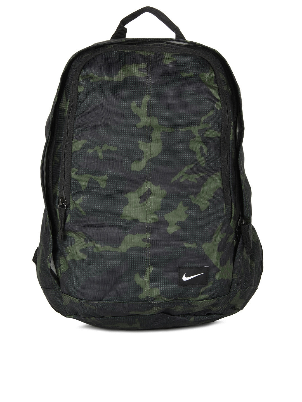 1984164d33 Buy Nike Men Green   Black Camouflage Hayward Backpack - Backpacks for Men  155041