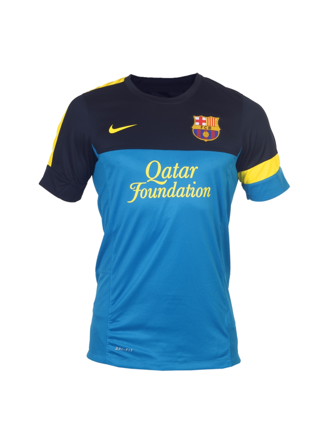 bc4e2c8bd58 Buy Nike Men Blue FCB Jersey - Tshirts for Men 67001