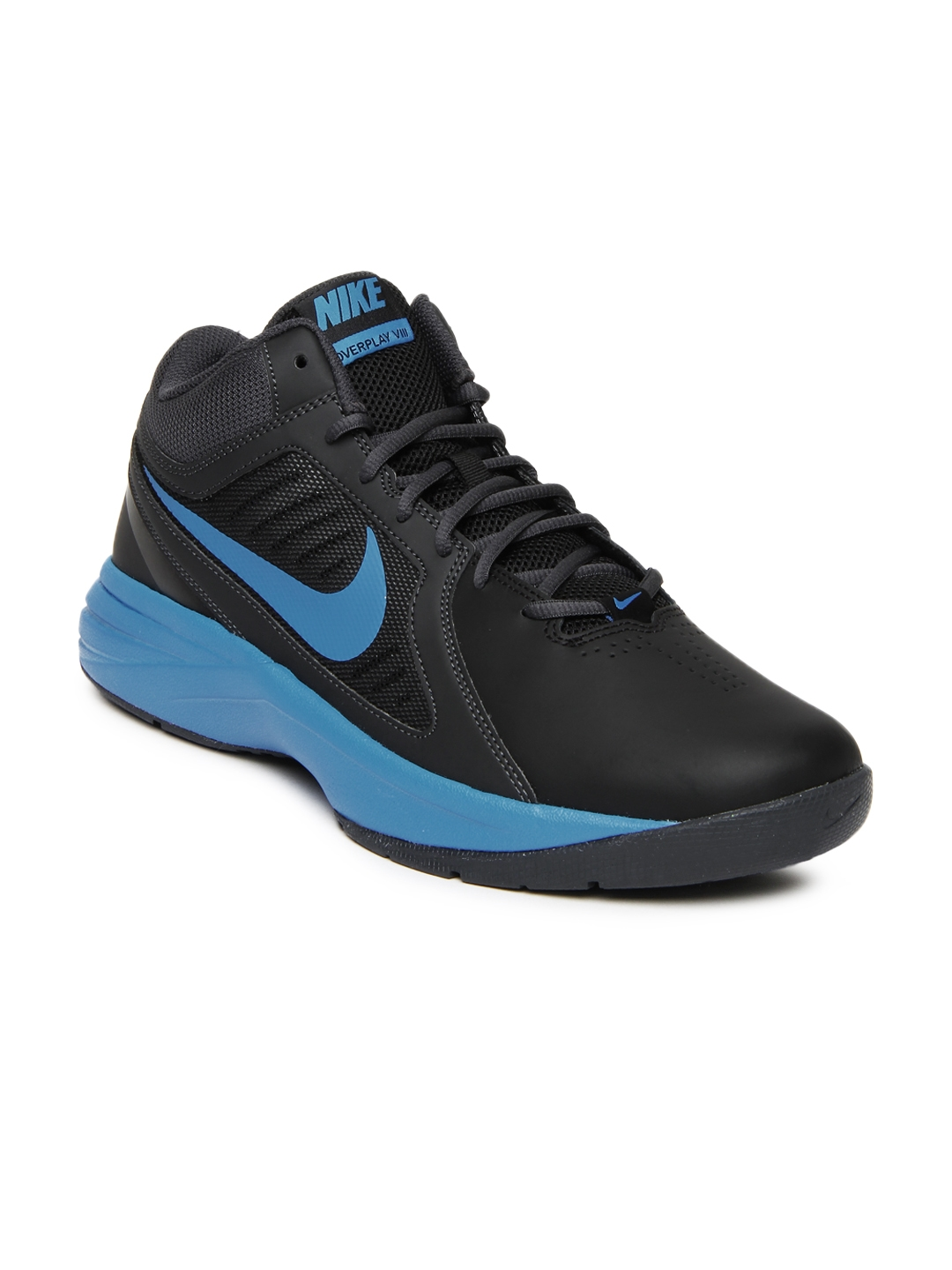 8742bc91d3f0 Buy Nike Black The Overplay VIII Basketball Sports Shoes - Sports ...