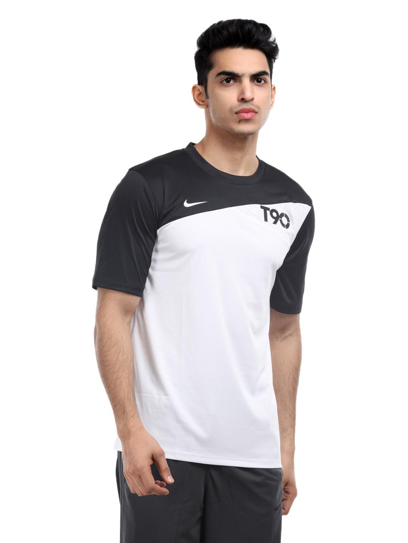 Mojado Venta anticipada ácido  Buy Nike Men White & Black T90 T Shirt - Tshirts for Men 131515   Myntra