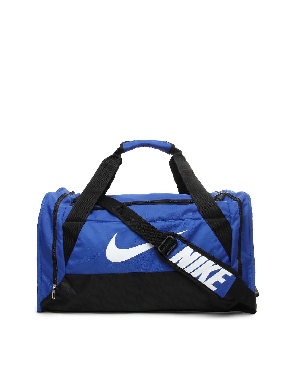 8e9ab4bf5894 Buy Nike Blue Brasilia 6 Medium Training Duffle Bag - Duffel Bag for ...