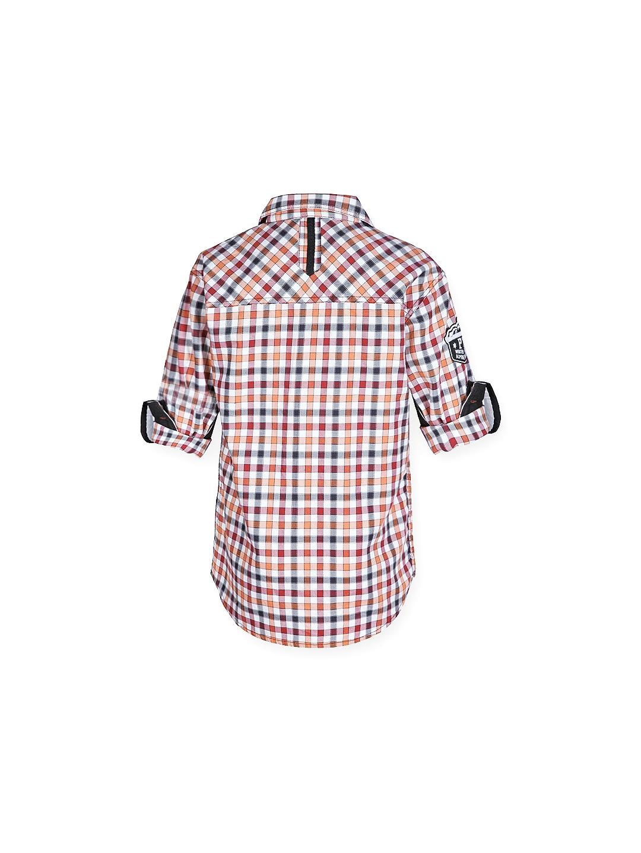 f2c26c4772 Buy Gini And Jony Boys Multicoloured Checked Shirt - Shirts for Boys ...