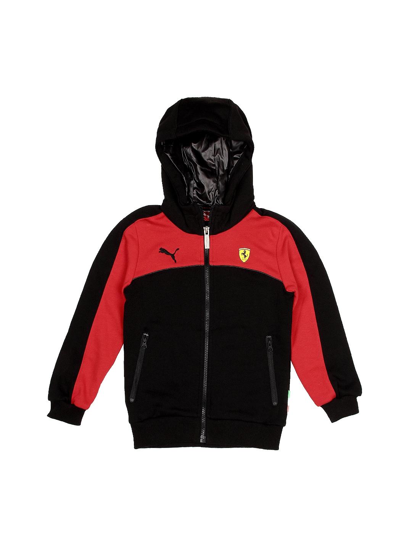 c4d67228 Puma Boys Black & Red Scuderia Ferrari Hooded Sweatshirt