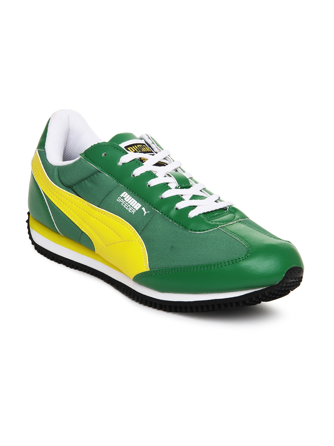 a5135d52b0b4 Buy Puma Men Green Speeder Tetron II Ind. Casual Shoes - Casual Shoes for  Men 171392