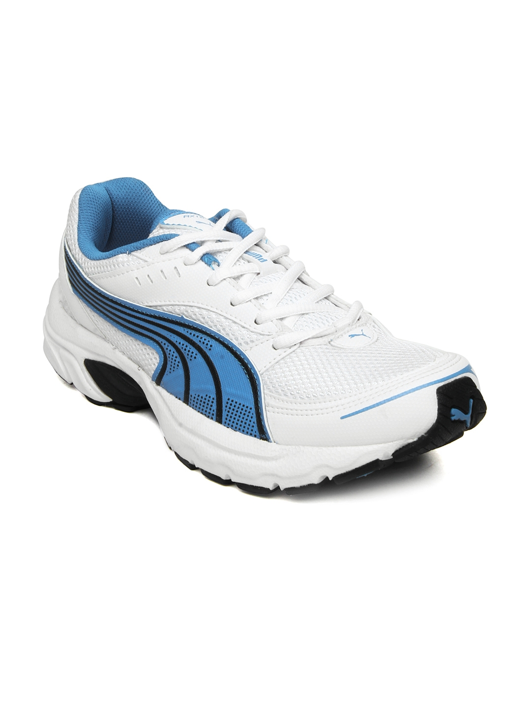 Buy Puma Men White Axis III DP Sports Shoes - Sports Shoes for Men ... 28216626f9