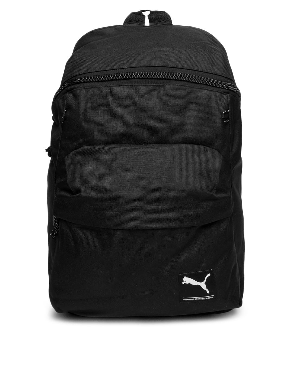 857a81310c4 Buy Puma Unisex Black Foundation Backpack - Backpacks for Unisex ...