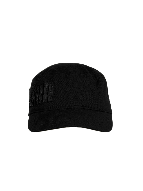 b6e03959f6d coupon buy puma unisex black penham military cap caps for unisex 107140  myntra 7a631 76476