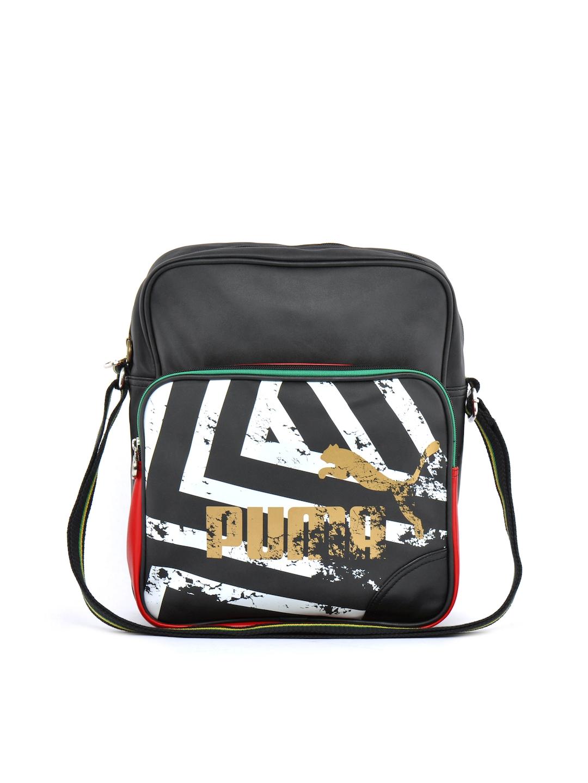 Buy Puma Unisex Jamaica Lifestyle Black Messenger Bag - Messenger Bag for  Unisex 17630  8b3373cdfd194