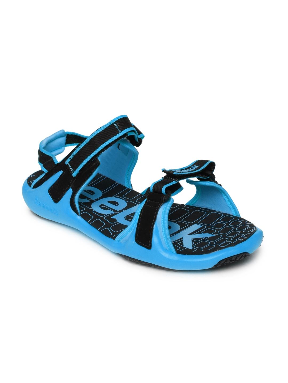 5af2a17718db4f Buy Reebok Men Black   Blue Adventure Grail LP Sports Sandals - Sports Sandals  for Men 253824