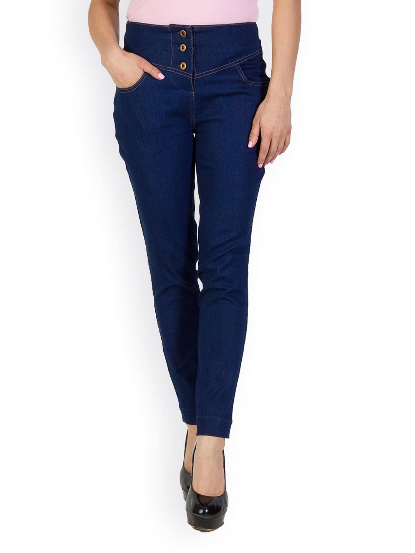 d08afe354e8ce Buy Rider Republic Women Blue Treggings - Jeggings for Women 740517 ...