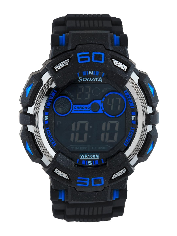 Sonata Men Ocean series II Digital Watch 77009PP02J