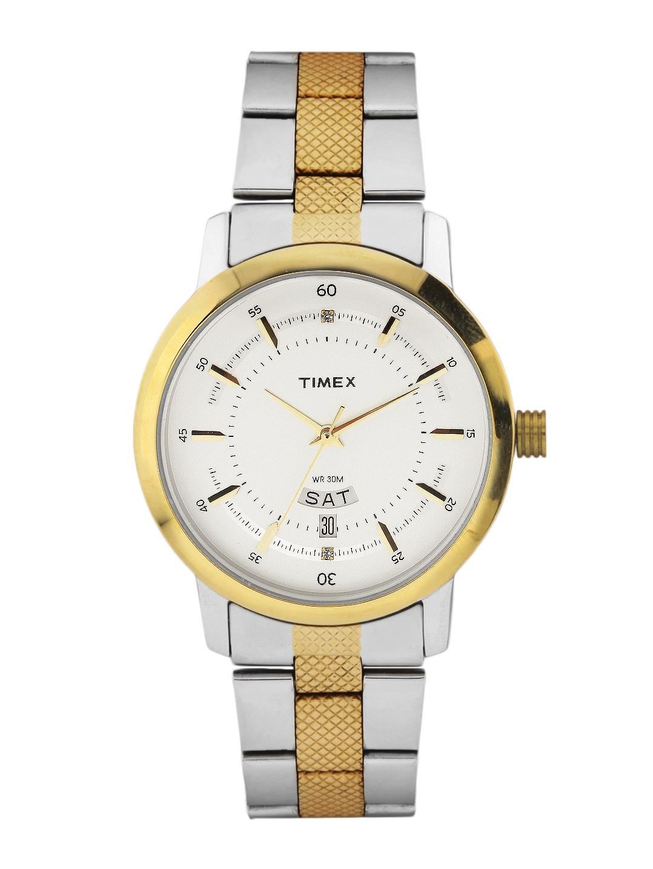 Timex Men White Dial Watch G910 BDL