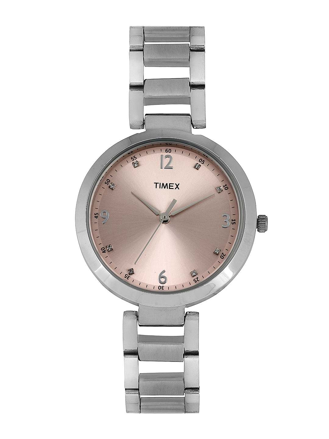 Timex Women Dull Pink Dial Watch TW000X201