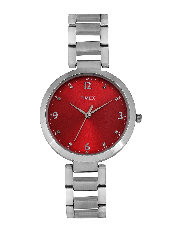Timex Women Red Dial Watch TW000X203