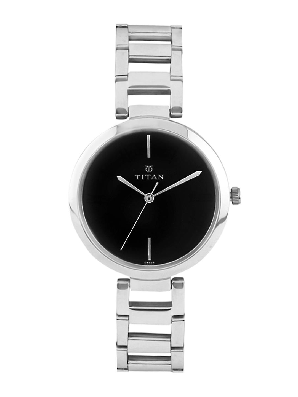 Titan Women Black Dial Watch